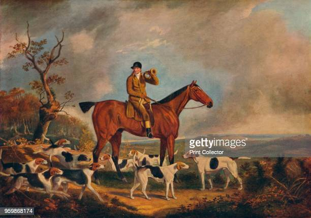 Thomas Oldaker on Pickle with his Hounds' circa 19th century From British Sporting Artists From Barlow to Herring by Walter Shaw Sparrow [John Lane...