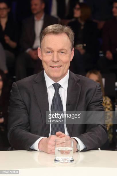 Thomas Oppermann in der ZDFTalkshow maybrit illner am in Berlin Auf verlorenem Posten Scheitert Merkel an Europa