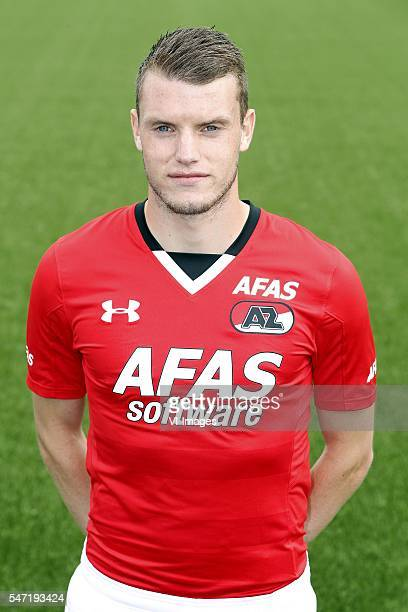 Thomas Ouwejan during the team presentation of AZ Alkmaar on July 13 2016 at Afas Stadium in Alkmaar The Netherlands