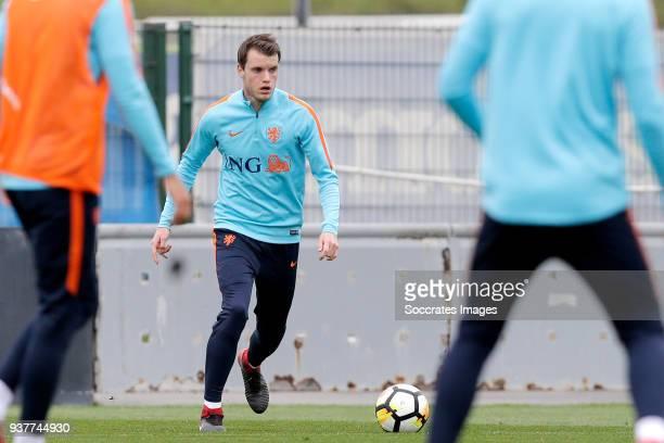Thomas Ouwejan of Holland U21 during the Training Holland U21 at the Ciutat Esportiva Dani Jarque on March 25 2018 in Mataro Spain