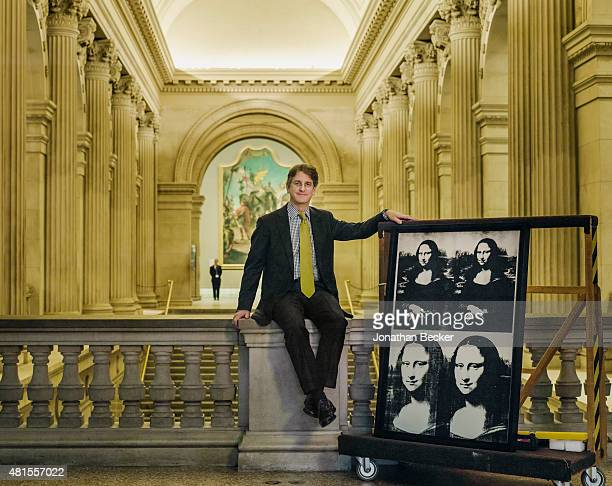 Thomas P. Cambell, the director of the Metropolitan Museum of Art, is photographed for Vanity Fair Magazine on December 8, 2014 in New York City.