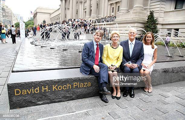 Thomas P Campbell Director and CEO of The Metropolitan Museum of Art Emily K Rafferty President of The Metropolitan Museum of Art David H Koch and...