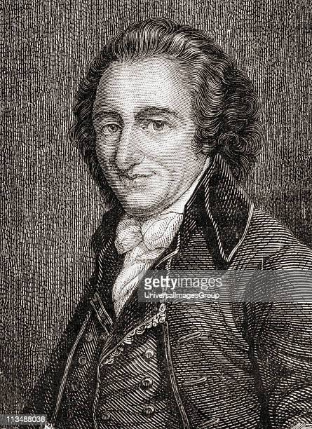 Thomas Paine 17371809 EnglishAmerican writer and political pamphleteer From Histoire de la Revolution Francaise by Louis Blanc