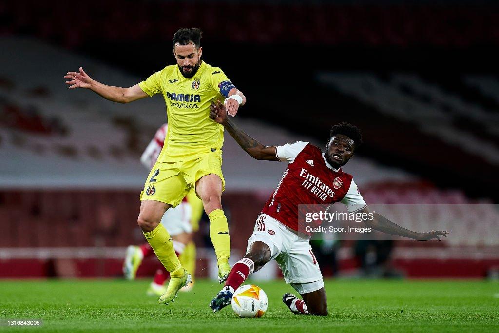 Arsenal v Villareal CF - UEFA Europa League Semi Final: Leg Two : Nachrichtenfoto