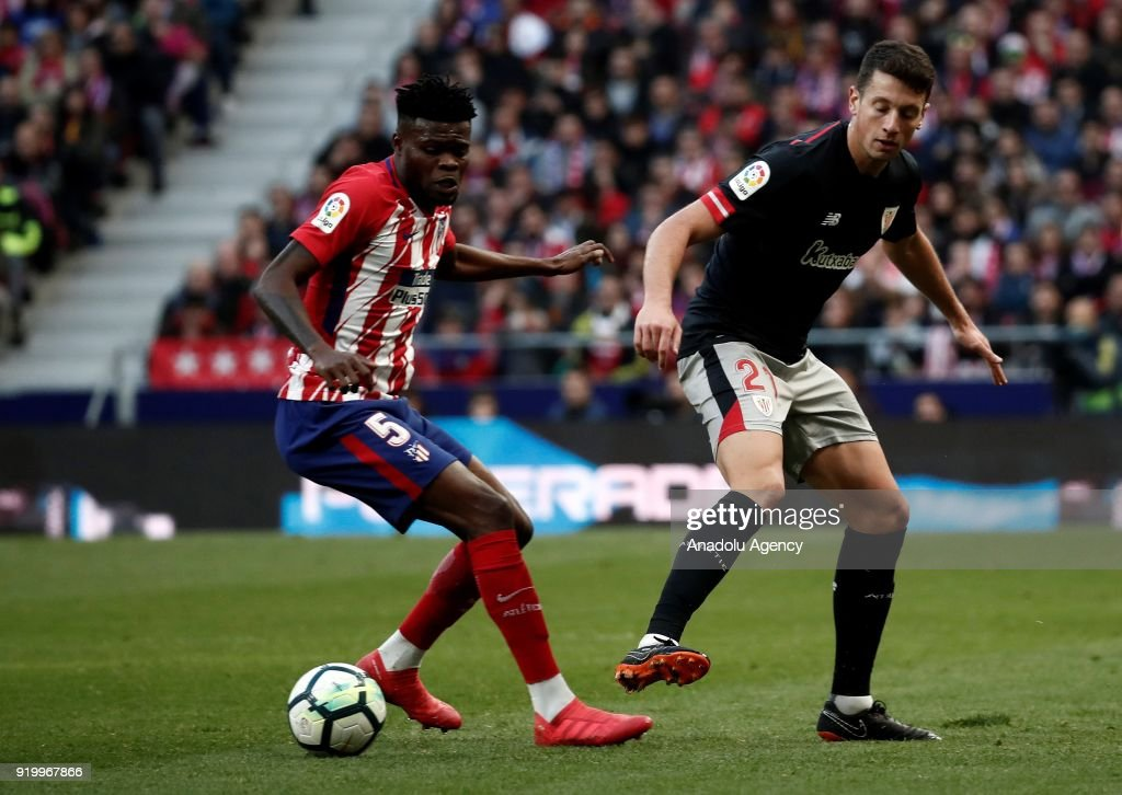 Partey's Atlético Madrid stunned by Athletic Bilbao in La Liga