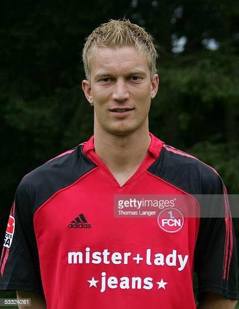 Thomas Paulus during the Team Presentation of 1 FC Nuremberg for the Bundesliga Season 2005 2006 on July 1 2005 in Bad Woerishofen Germany