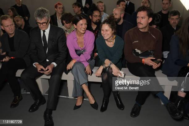 Thomas Persson Jay Jopling Hikari Yokoyama Hermes Group Communication Director Charlotte David and Ben Aldridge attend 'Hermes Step Into The Frame'...