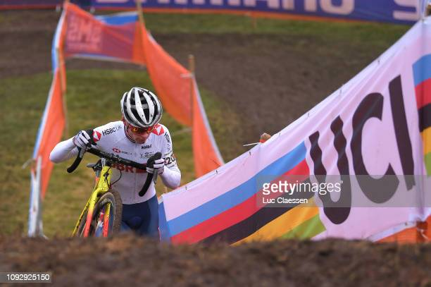 Thomas Pidcock of Great Britain and Team Great Britain / during the 70th Cyclo-cross World Championships Bogense 2019, Men Under 23 / Cross Denmark /...