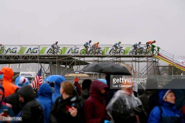 Thomas Pidcock of Great Britain / Belgium Team / Team The Netherlands / Public / Fans / Landscape / during the 71st Cyclocross World Championships...