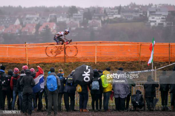 Thomas Pidcock of Great Britain / Public / Fans / Landscape / during the 71st Cyclocross World Championships Dübendorf 2020 Men Elite / @UCI_CX /...