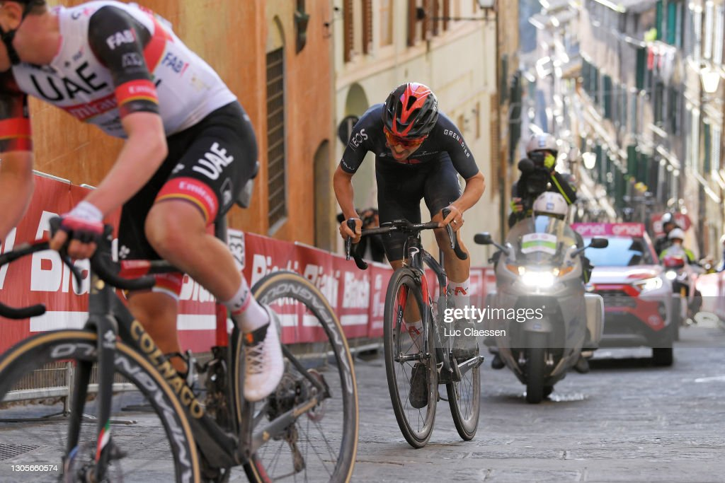Eroica - 15th Strade Bianche 2021 - Men's Elite : News Photo