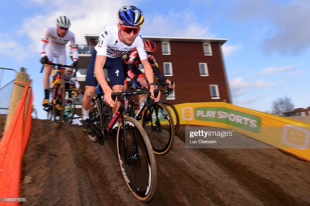 31st WC GP Adrie Van der Poel Hoogerheide 2020 - Men Elite : ニュース写真