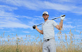gullane scotland thomas pieters belgium poses