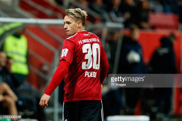 Thomas Pledl of FC Ingolstadt looks on during the Second Bundesliga match between FC Ingolstadt 04 and 1 FC Union Berlin at Audi Sportpark on October...