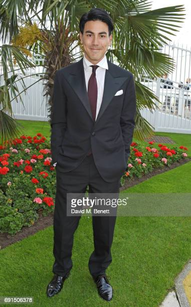 Thomas Price attends Ladies Day of the 2017 Investec Derby Festival at The Jockey Club's Epsom Downs Racecourse at Epsom Racecourse on June 2, 2017...