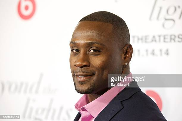 Thomas Q Jones attends the Los Angeles Premiere of Beyond The Lights at ArcLight Hollywood on November 12 2014 in Hollywood California