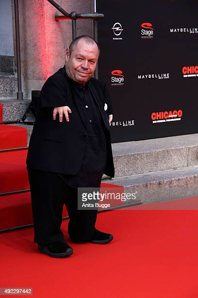 Thomas Quasthoff attends the premiere for the musical 'Chicago' at Theater des Westens on October 11 2015 in Berlin Germany