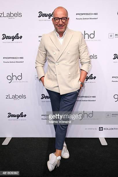 Thomas Rath arrives for the AMD Akademie Mode Design Best Graduate Show during Platform Fashion July 2015 at Areal Boehler on July 24 2015 in...