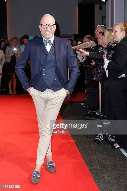 Thomas Rath attends the Fashion Charity Event 2015 in favor of the 'RTL Wir helfen Kindern' foundation at Unionhalle on April 23 2015 in Frankfurt...