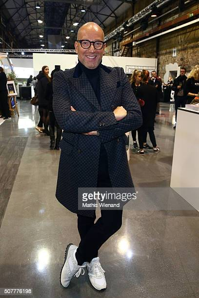 Thomas Rath attends the Platform Fashion Selected show during Platform Fashion January 2016 at Areal Boehler on January 31 2016 in Duesseldorf Germany