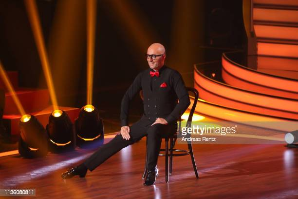 Thomas Rath performs on stage during the preshow 'Wer tanzt mit wem Die grosse Kennenlernshow' of the television competition 'Let's Dance' on March...