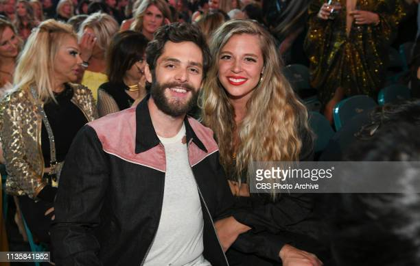 Thomas Rhett and guest during the 54TH ACADEMY OF COUNTRY MUSIC AWARDS to broadcast LIVE from MGM Grand Garden Arena in Las Vegas Sunday April 7 2019...