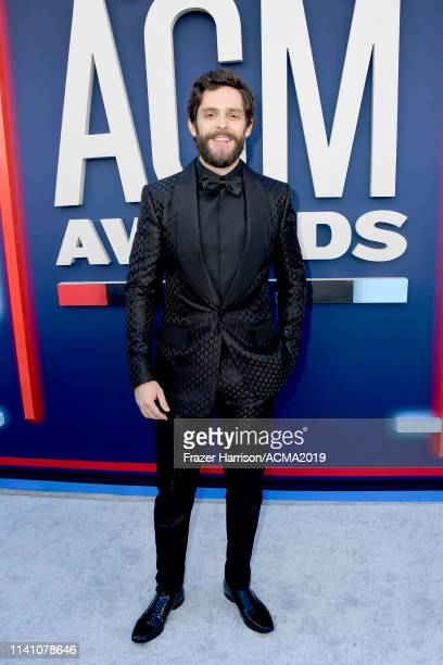 Thomas Rhett attends the 54th Academy Of Country Music Awards at MGM Grand Hotel Casino on April 07 2019 in Las Vegas Nevada