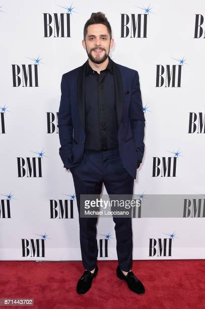 Thomas Rhett attends the 65th Annual BMI Country awards on November 7 2017 in Nashville Tennessee