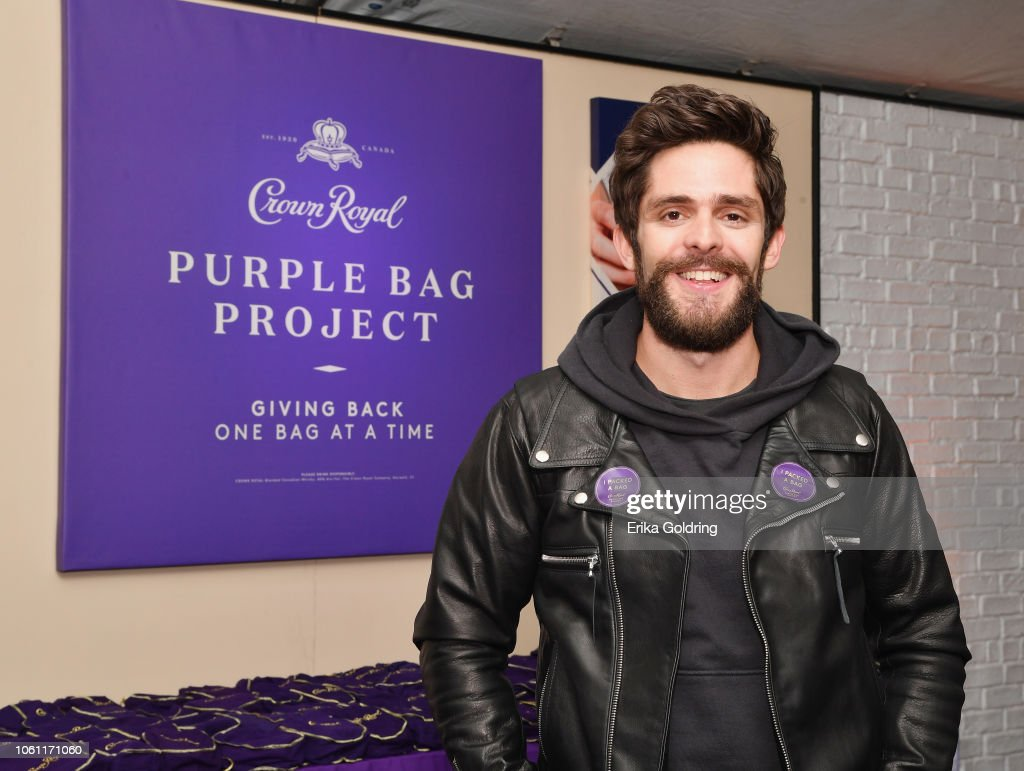 Crown Royal Purple Bag Project Bag Packing Event : News Photo
