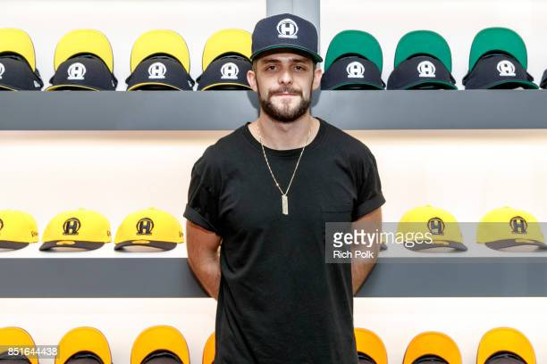 Thomas Rhett kicks off his weekend Los Angeles Pop Up Store on September 22 2017 in Los Angeles California