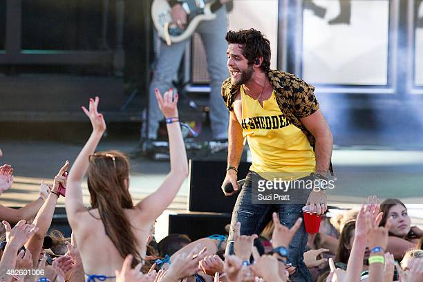 Thomas Rhett performs at the Watershed Music Festival 2015 at The Gorge on July 31 2015 in George Washington