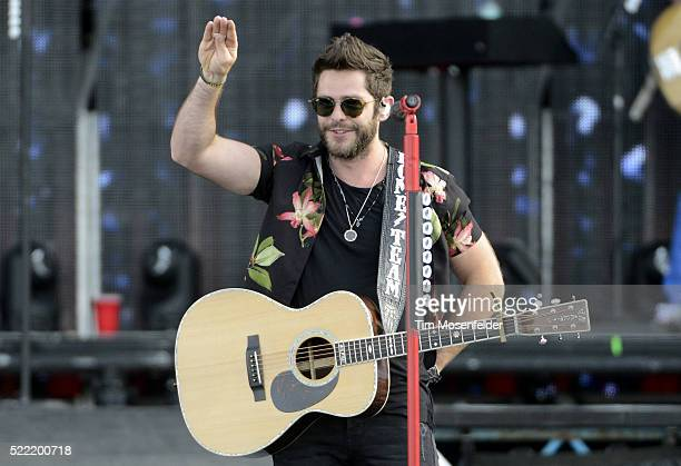 Thomas Rhett performs during the Tortuga Music Festival on April 17 2016 in Fort Lauderdale Florida