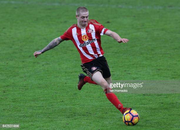 Thomas Robson of Sunderland during the Premier League International Cup Quarter Final match between Sunderland U23 and Athletic Bilbao U23 at the...