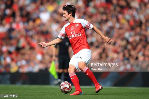 Thomas Rosicky of Arsenal during the match between Arsenal Legends and Real Madrid Legends at Emirates Stadium on September 8, 2018 in London, United...