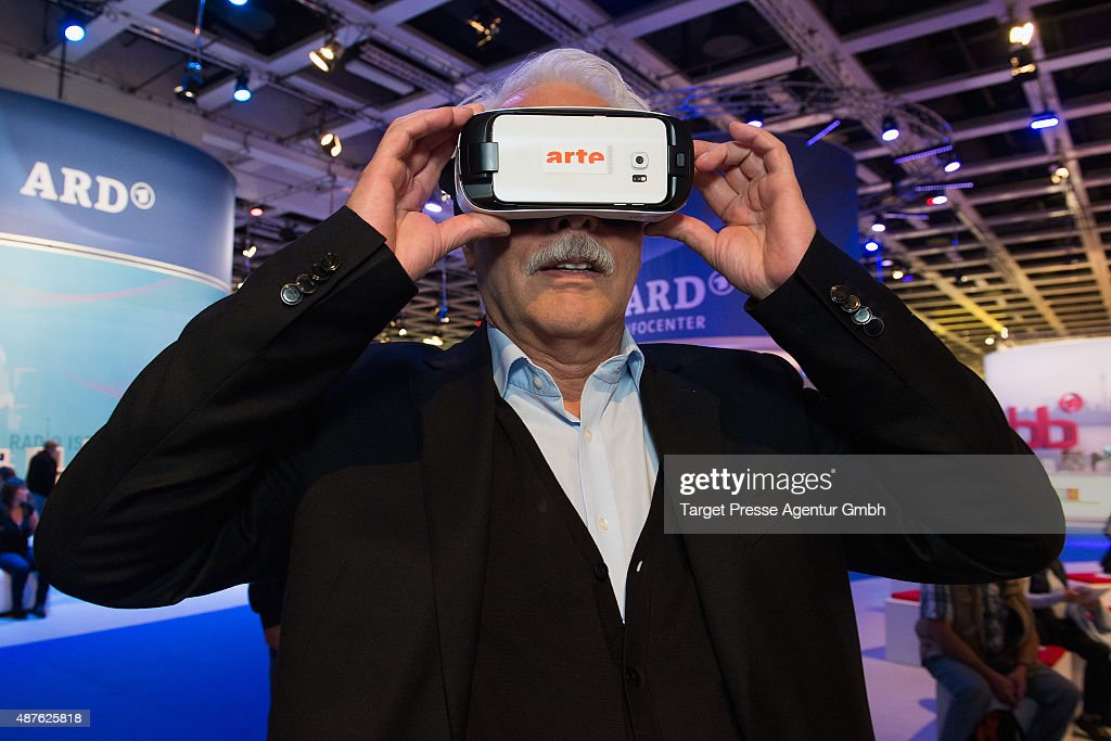 Thomas Roth visits the ARD stand at 2015 IFA Tech Fair on September 9, 2015 in Berlin, Germany.