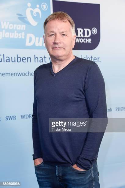 Thomas Ruehmann during the ARD Themenwoche 2017 'Woran glaubst Du' at Soho House on May 29 2017 in Berlin Germany