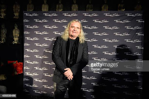 Thomas Sabo attends the Thomas Sabo flagship store opening at Restaurant Zenzakan on November 20 2014 in Frankfurt am Main Germany