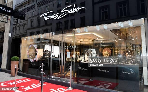 Thomas Sabo und Georgia May Jagger beim 'Thomas Sabo' Flagship Store Openingnbsp am in Hamburg Der Shop