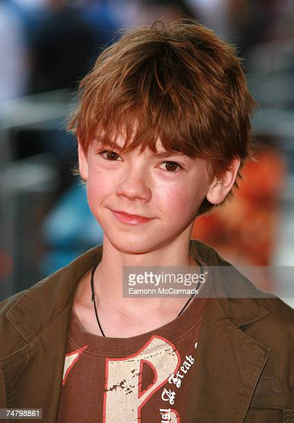 Thomas Sangster at the Vue West End in London United Kingdom