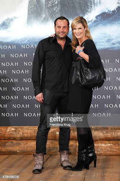 Thomas Schubert and Verena Wriedt attend the 'Noah' Germany Premiere at Zoo Palast on March 13 2014 in Berlin Germany