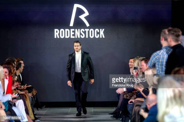 Thomas Seitel during the Rodenstock Eyewear Show 'A New Vision of Style' at Isarforum on January 24 2019 in Munich Germany
