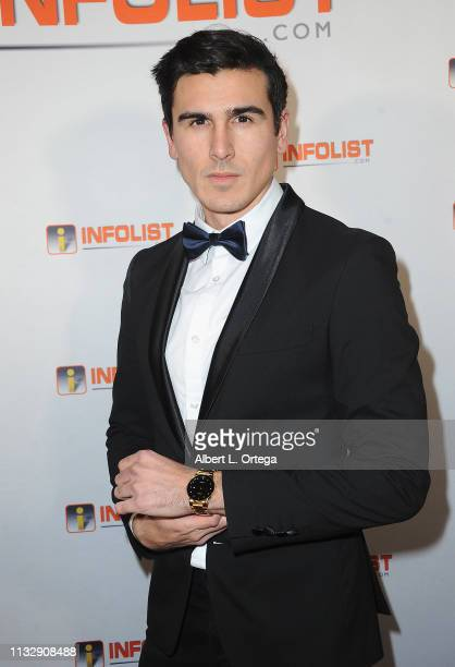 Thomas Soliz arrives for PreOscar Soiree Hosted By INFOListcom and Birthday Celebration for Founder Jeff Gund held at SkyBar at the Mondrian Los...