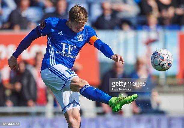 Thomas Sorensen of Lyngby BK in action during the Danish Alka Superliga match between Lyngby BK and FC Nordsjalland at Lyngby Stadion on May 12 2017...