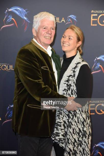Thomas Stein and his wife Cornelia Stein during the world premiere of the horse show 'EQUILA' at Apassionata Showpalast Muenchen on November 5 2017...