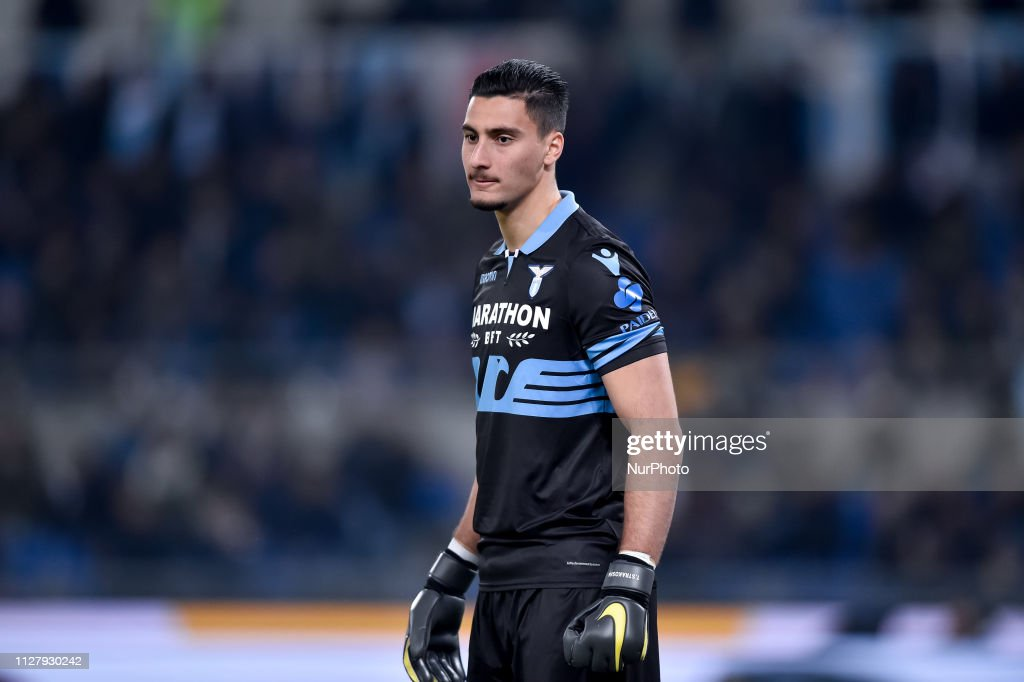 Lazio v AC Milan Italian Tim Cup Semi-Final  26/02/2019. : News Photo