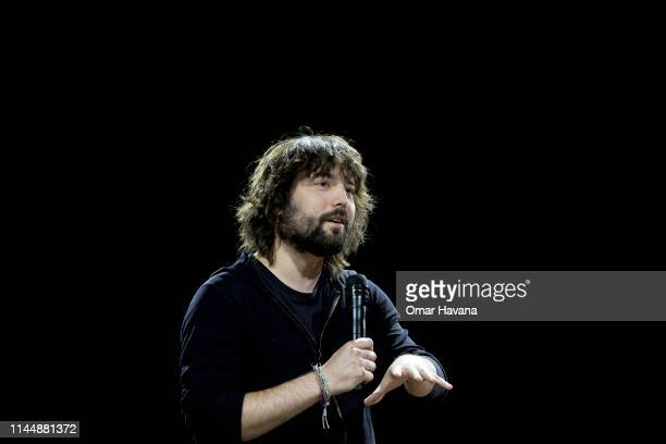 Thomas Szaky CEO and Founder of TerraCycle speaks to attendees during a plenary session during the Sustainable Brands Paris conference in the...