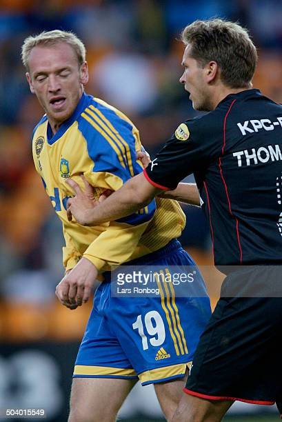 Thomas Thomasberg FC Midtjylland Kaspar Dalgas Broendby