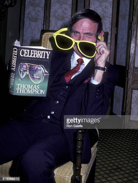 Thomas Thompson attends the book party for Celebrity on April 9 1982 at the Beverly Hills Hotel in Beverly Hills California
