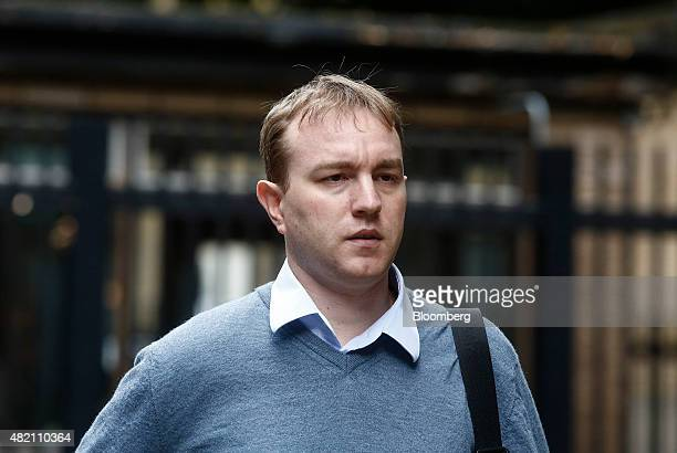 Thomas 'Tom' Hayes a former trader at banks including UBS Group AG and Citigroup Inc arrives for his trial at Southwark Crown Court in London UK on...