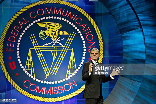 Thomas Tom Wheeler chairman of the US Federal Communications Commission speaks at INTX The Internet Television Expo in Chicago Illinois US on...